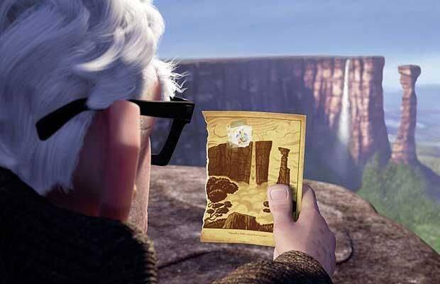 Santo Angel que é cenário do filme UP! Uma das sugestões de viagens para fazer depois dos 50 anos.