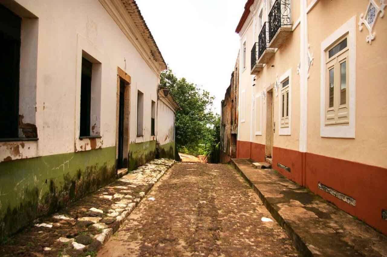 Alcântara é uma das cidades históricas menos conhecidas do Brasil.