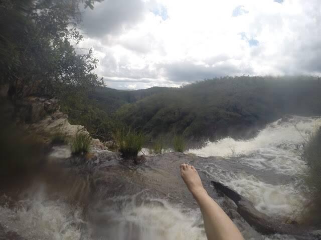 Cachoeira da Franja - Cataratas dos Couros