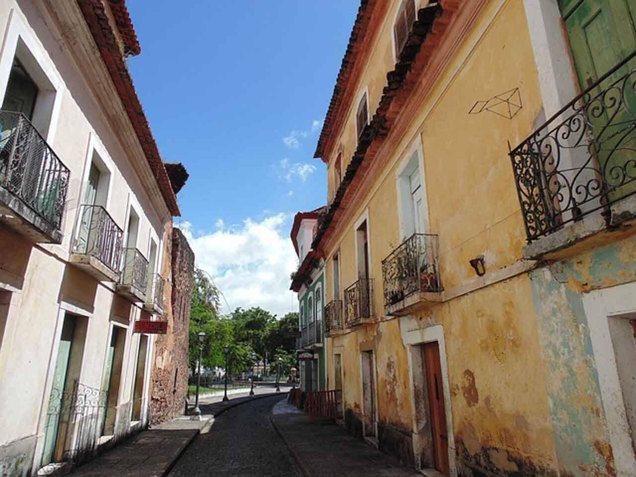 São Luis do Maranhão e suas ruelinhas estreitas.