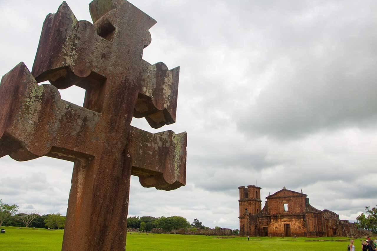 Símbolo da cidade de São Miguel das Missões, no Rio Grande do Sul.