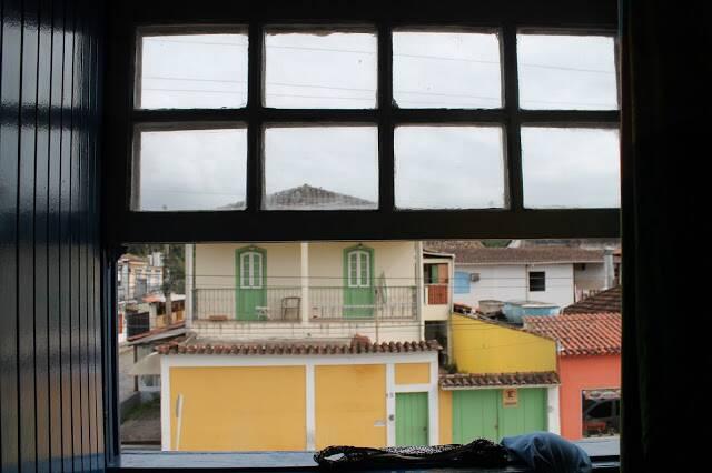 Vista do nosso quarto na Pousada Coqueiro. Foto por: Bruno Miguel
