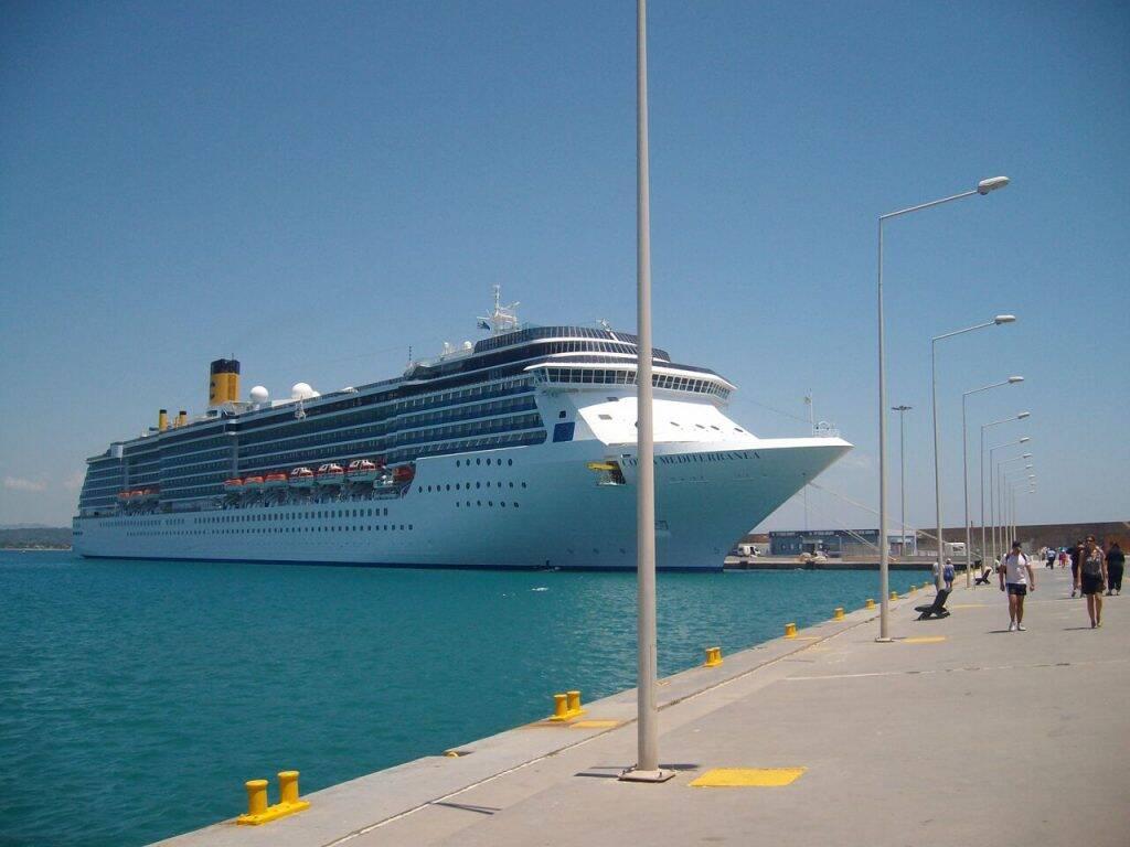 Navio Costa Mediterranea, o que seria a minha casa nos próximos 8 meses - a tão esperada ligação