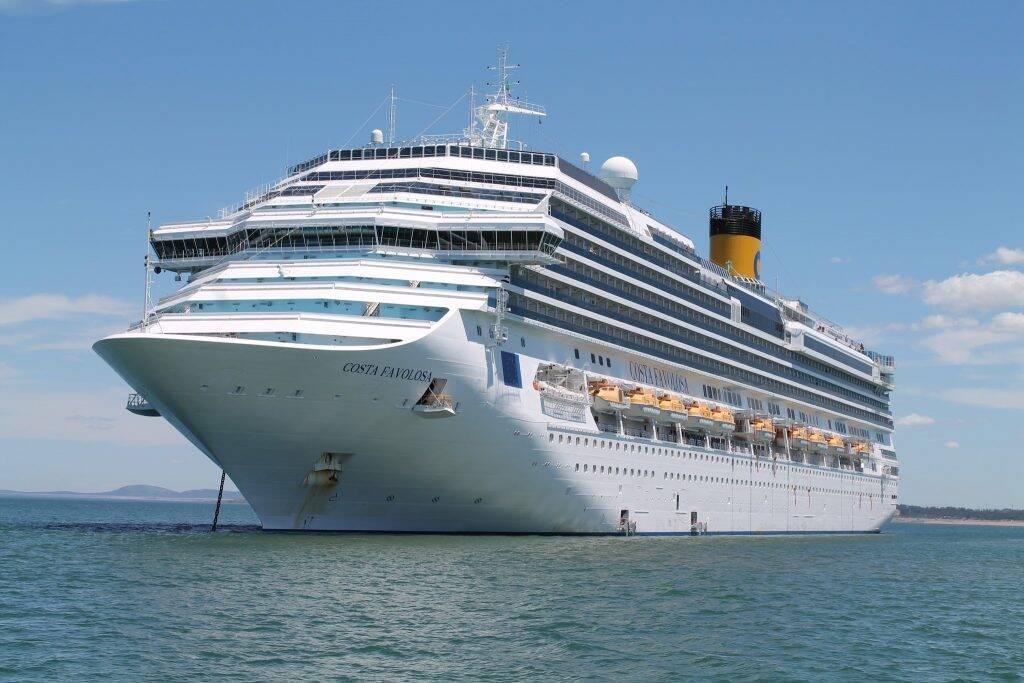 Costa Favolosa em Punta Del Este - trabalhar em navio diferente