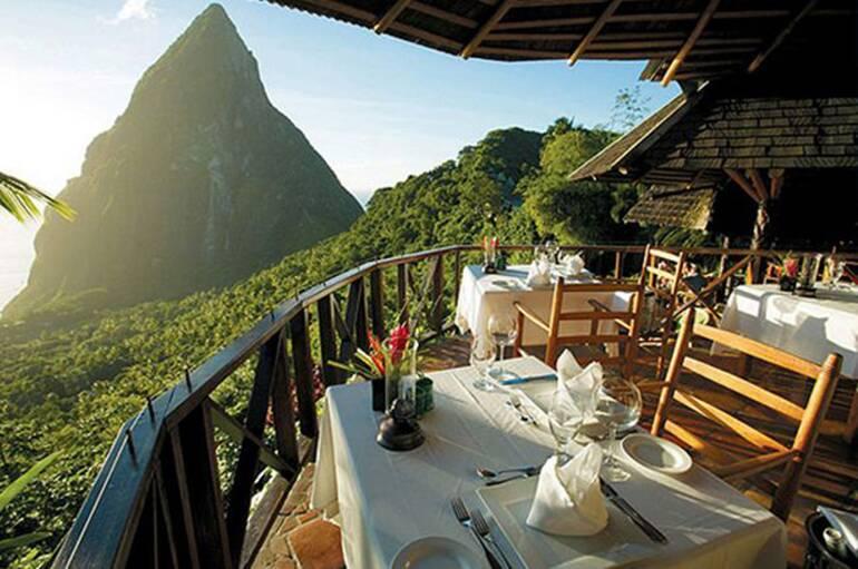 Dasheene - Santa Lucia. Restaurantes com as vistas mais espetaculares do mundo