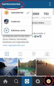 Instagram contas múltiplas. Passo a passo Instagram.