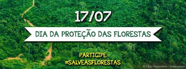 Dia da Proteção das Florestas – Twitaço do Greenpeace