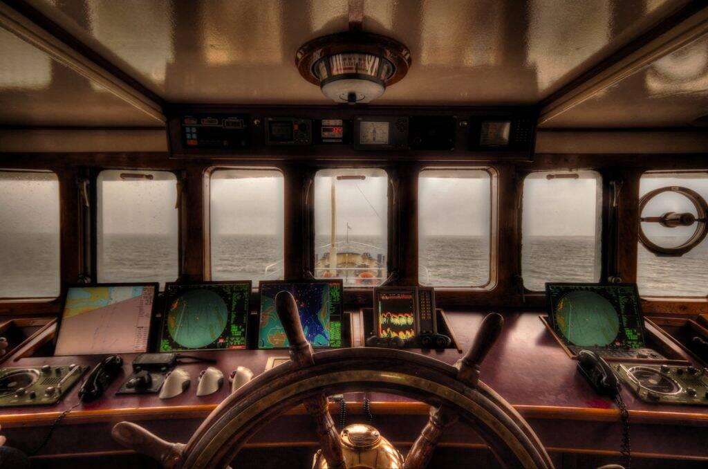 Ship - Navio - Ponte de comando