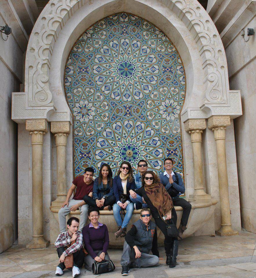 crew in Casablanca