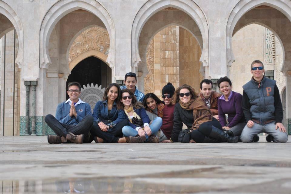 Com um bando de crews em Casablanca, no Marrocos - voltando a ativa