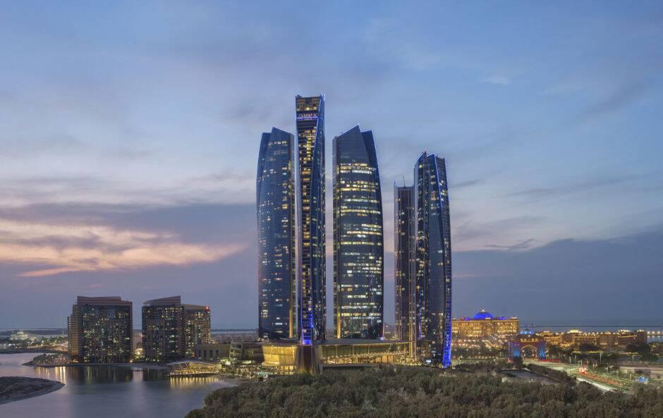 Etihad Towers. - Abu Dhabi
