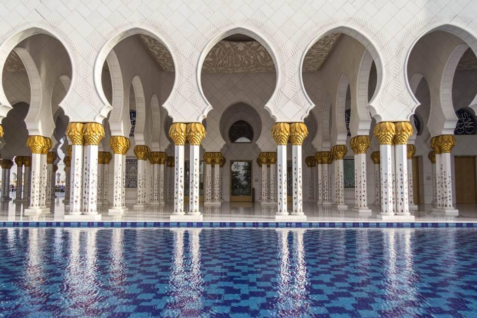 Sheikh Zayed Grand Mosque. - Abu Dhabi