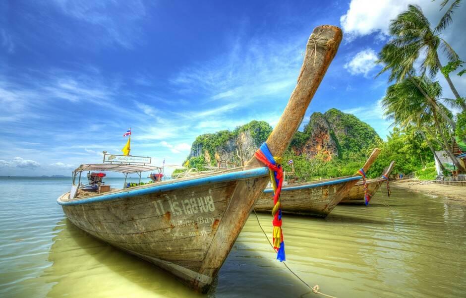 Estamos indo para a Tailândia
