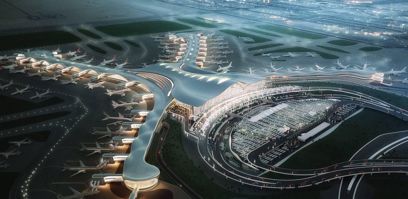 Foto do Aeroporto de Abu Dhabi
