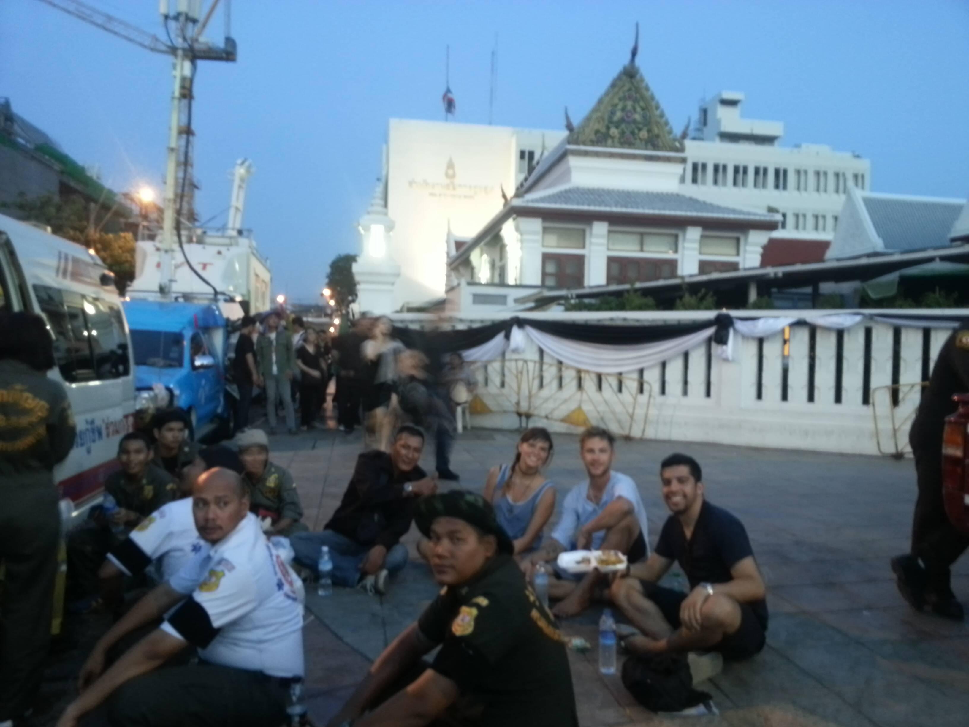 Amigos de Bangkok - primeiros dias de viagem