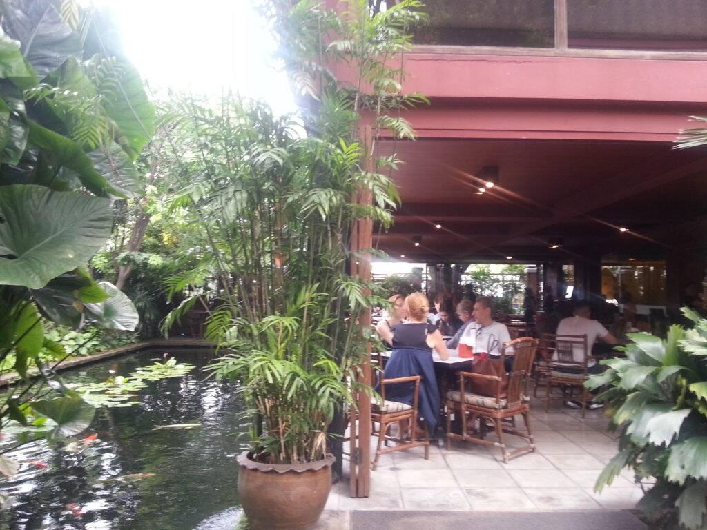 Restaurante/bar na Jim Thompson House