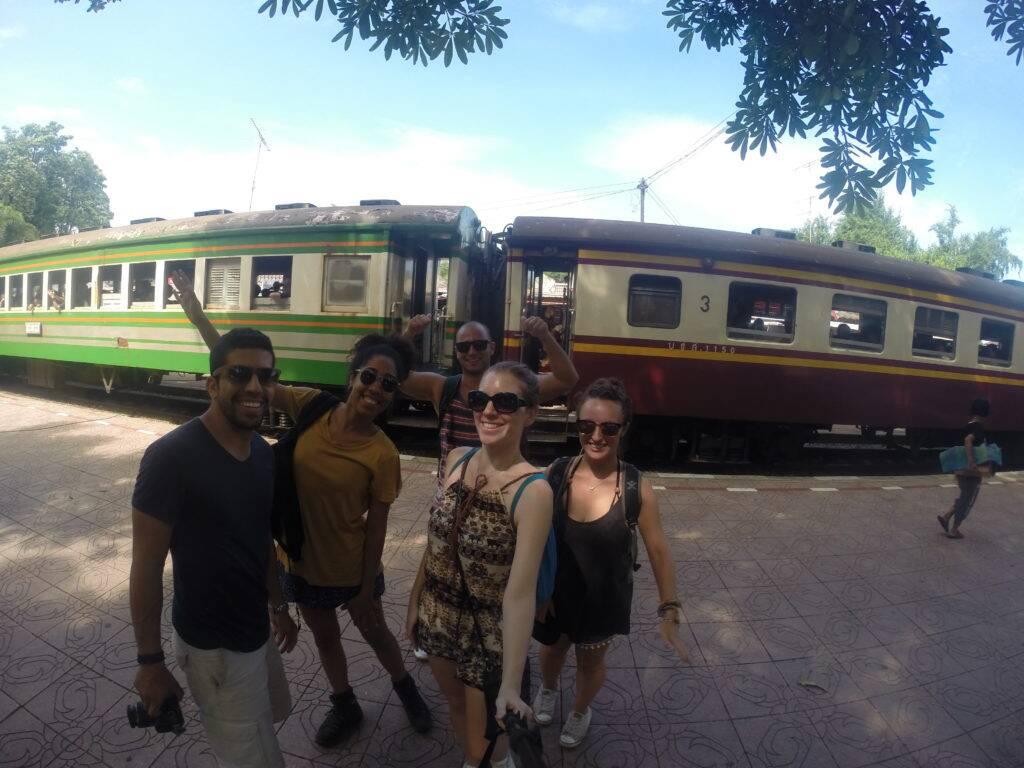 Trem na Tailândia: dicas de como viajar barato no país