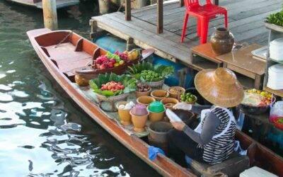 Cidades próximas de Bangkok para visitar