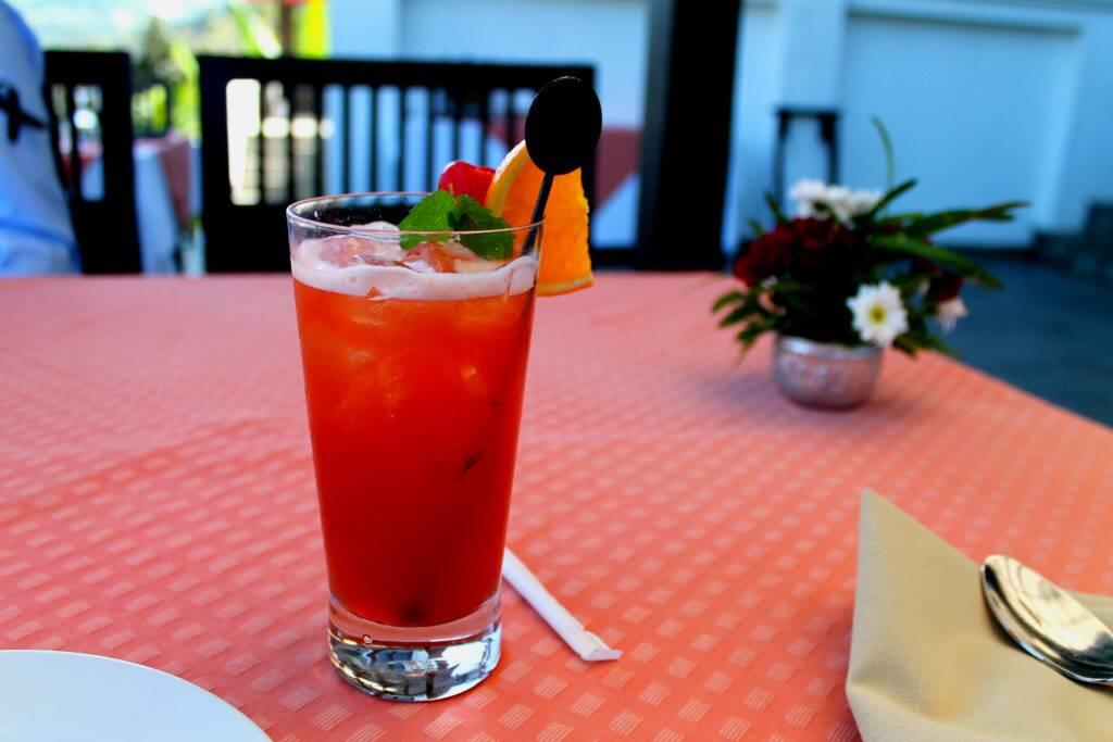 Panviman Chiang Mai Spa Resort - Mai Tai, o famoso drink Thai