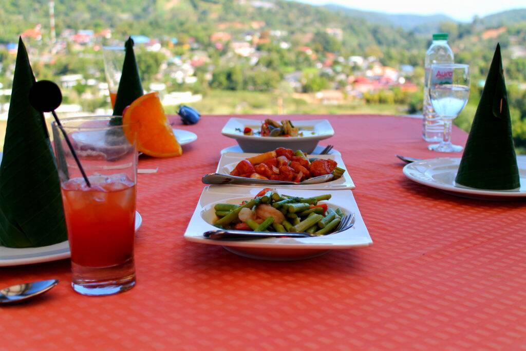 Panviman Chiang Mai Spa Resort - uma das melhores comidas Thai que já comemos