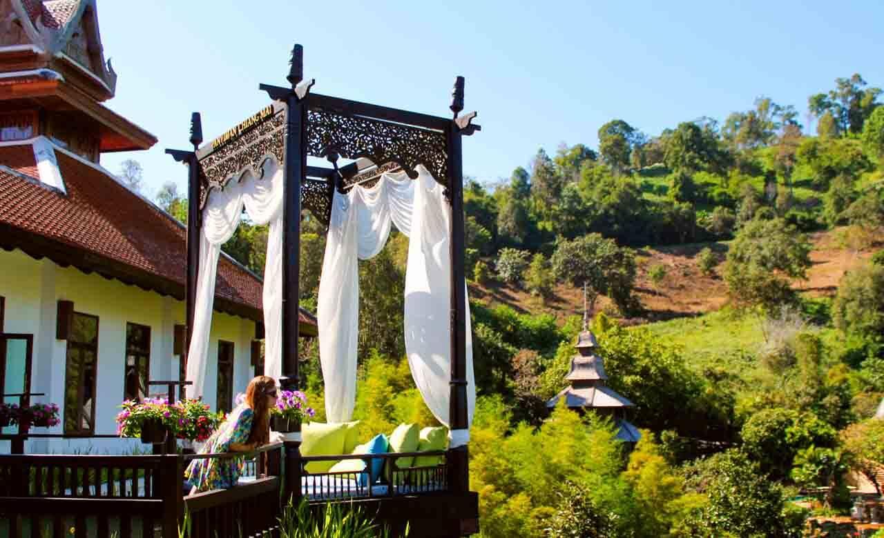 Panviman Spa Resort em Chiang Mai, Tailândia.