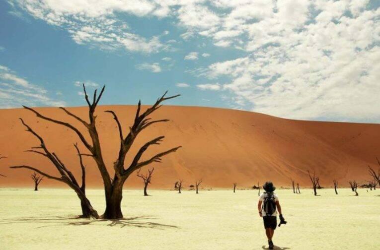 "Parque Namib-Naukluft, na Namíbia - Foto marcada com a Hashtag ""naproadavida"""