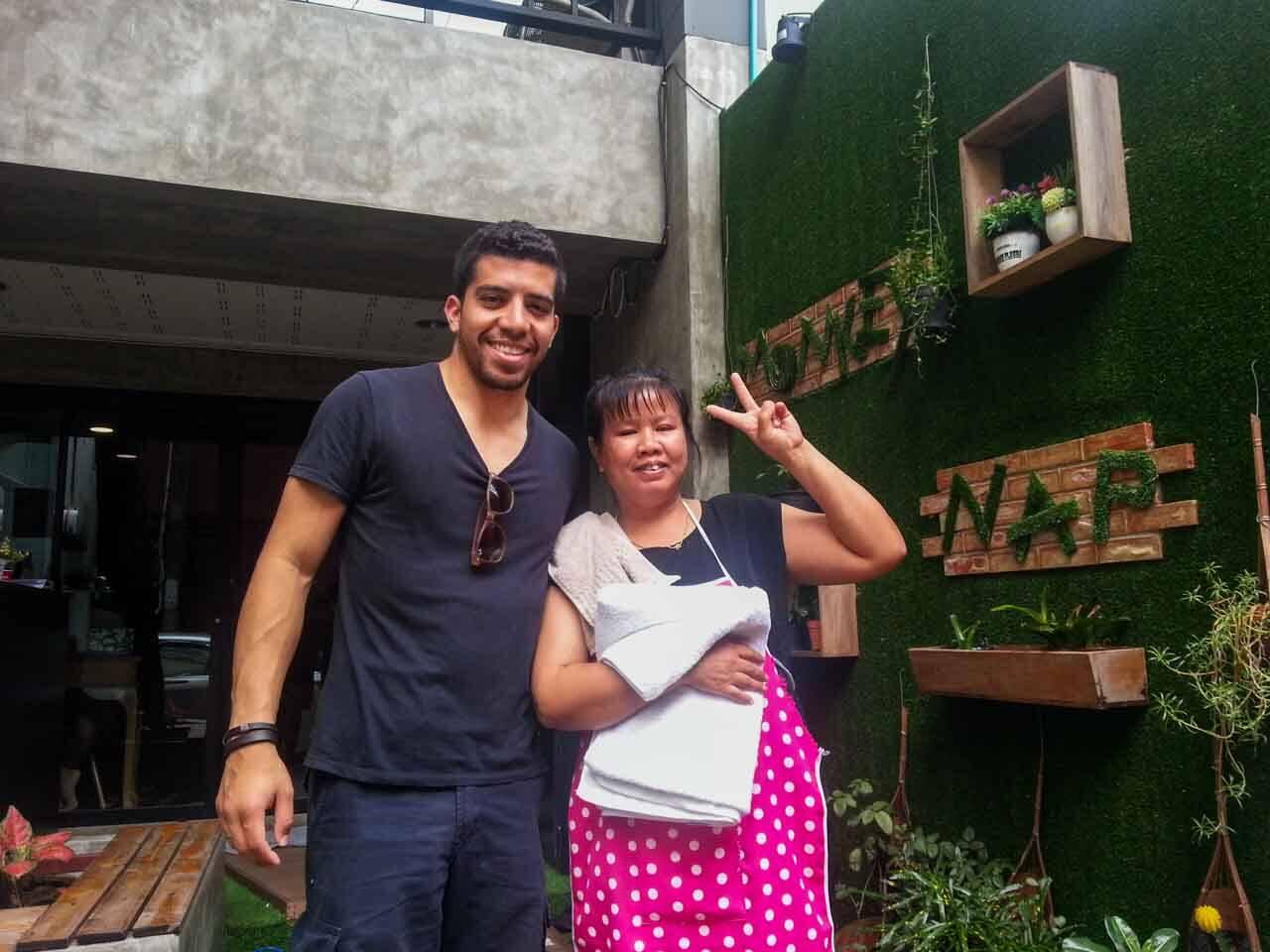 MonkeyNap Hostel em Bangkok – A nossa primeira hospedagem na Ásia