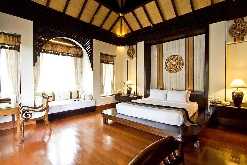 Panviman Chiang Mai Spa Resort - suíte incrível com jacuzzi