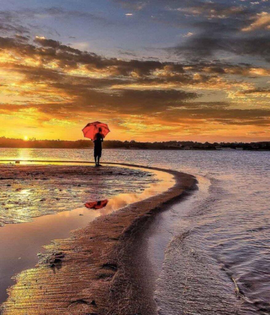 O que fazer na praia quando chove