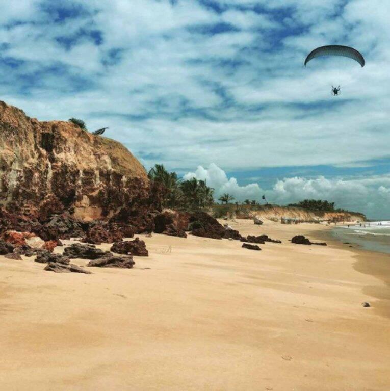 Costa Dourada, na Bahia (Brasil)