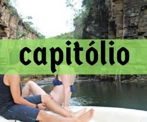 Capitólio - paraíso em Minas Gerais