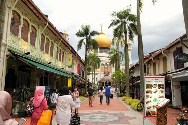 Kampong Glam - Arab quarter - Singapura