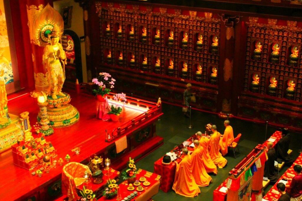 Templo/Museu budista chinês Buddha Tooth Relic - Singapura