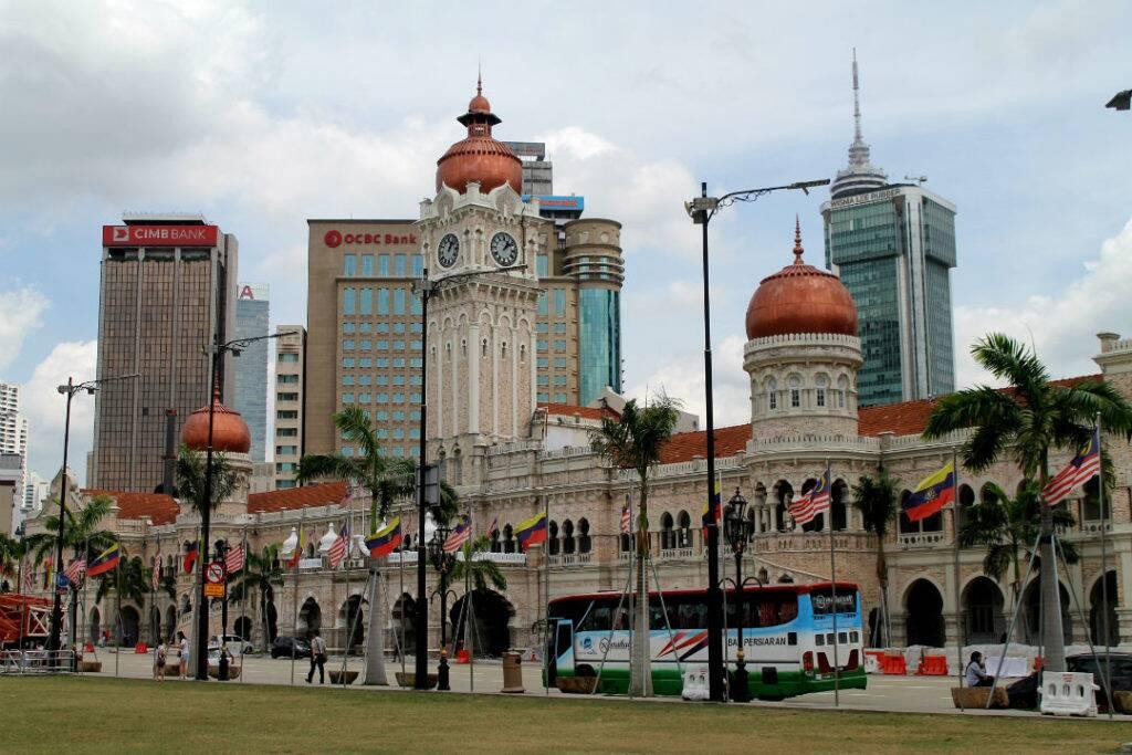 Edifício Sultão Abdul Samad - Kuala Lumpur, Malásia