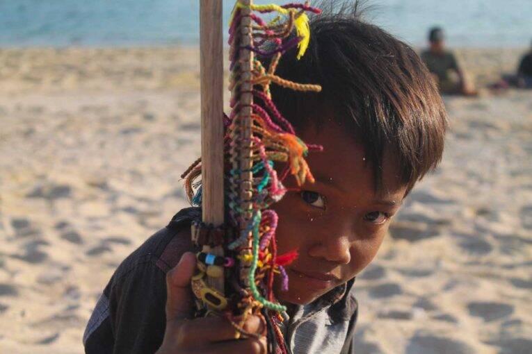 Indonesian boy - Menino que conhecemos em nossa viagem em Sumatra