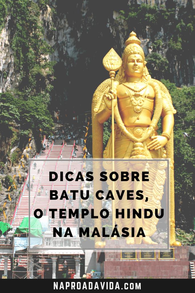 Batu Caves: o templo hindu em Kuala Lumpur, Malásia