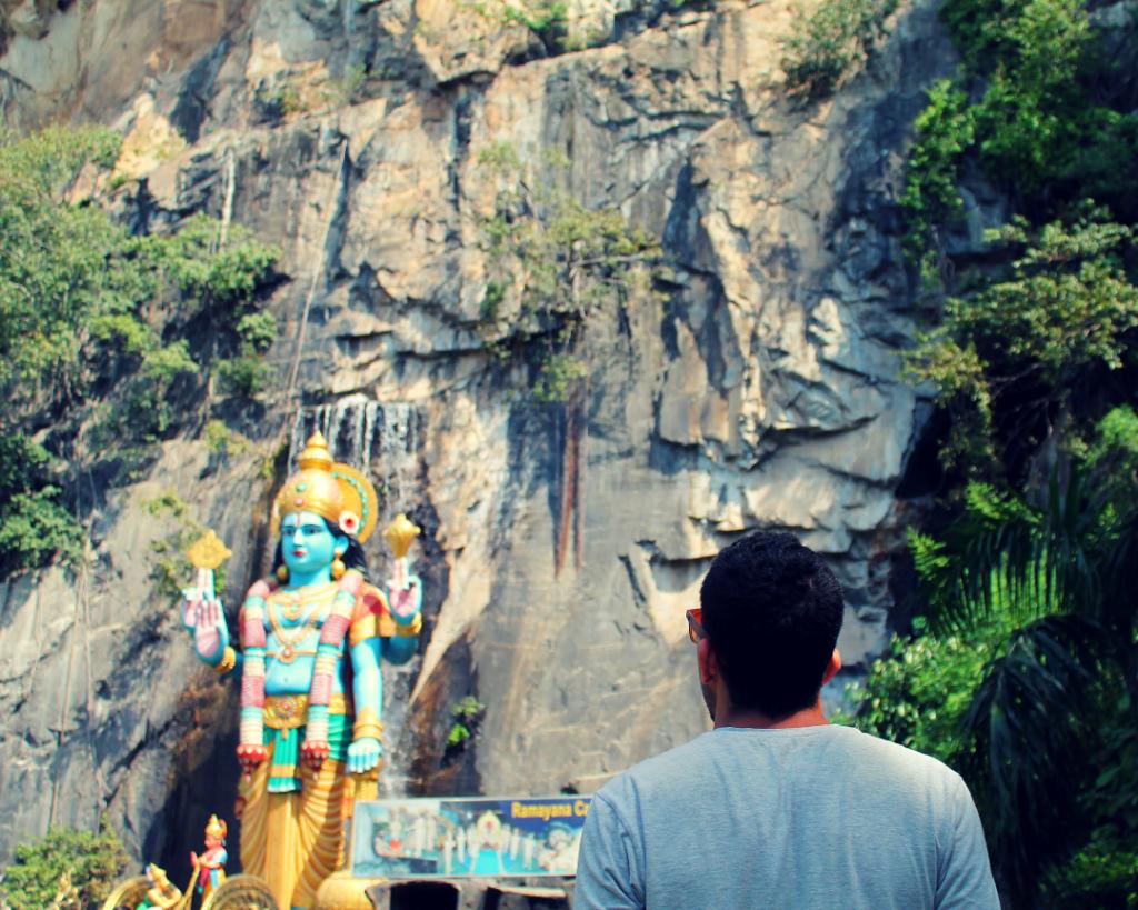 Batu Caves - Ramayana cave