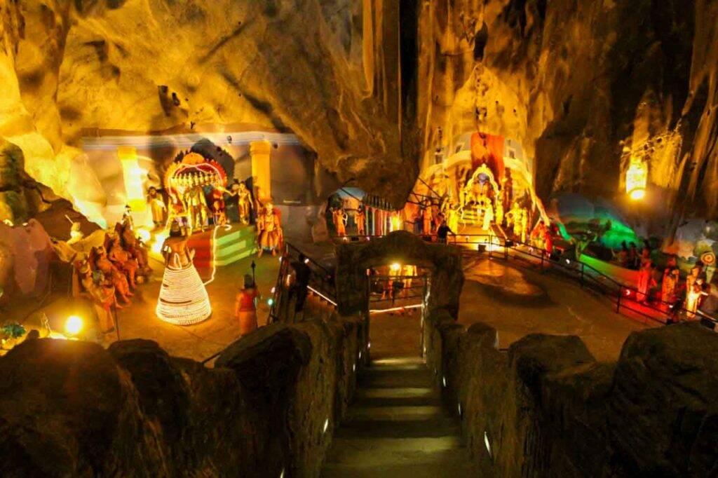 Batu Caves - Ramayana vista de cima