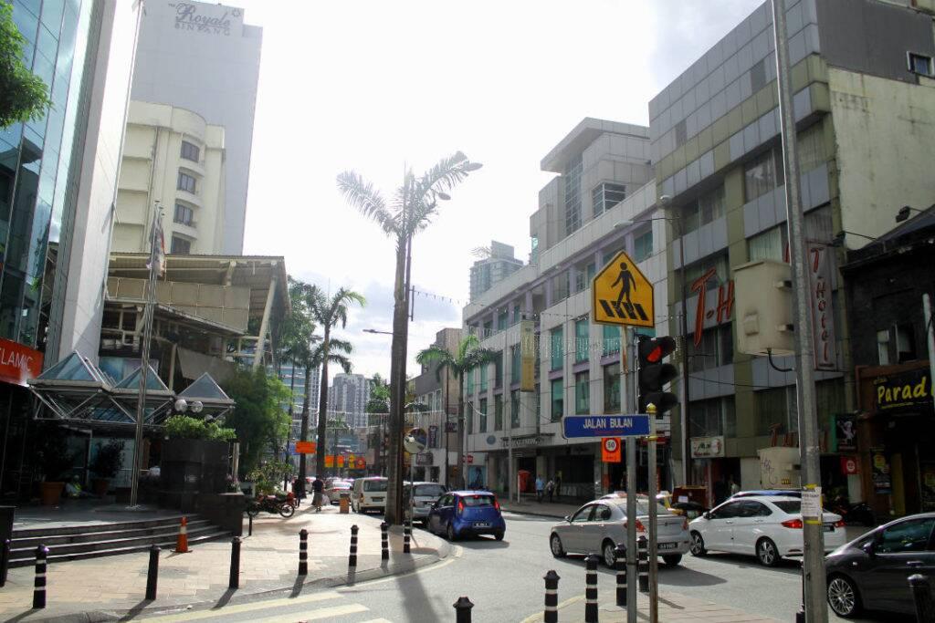 Ruas de Bukit Bintang - onde ficar em Kuala Lumpur
