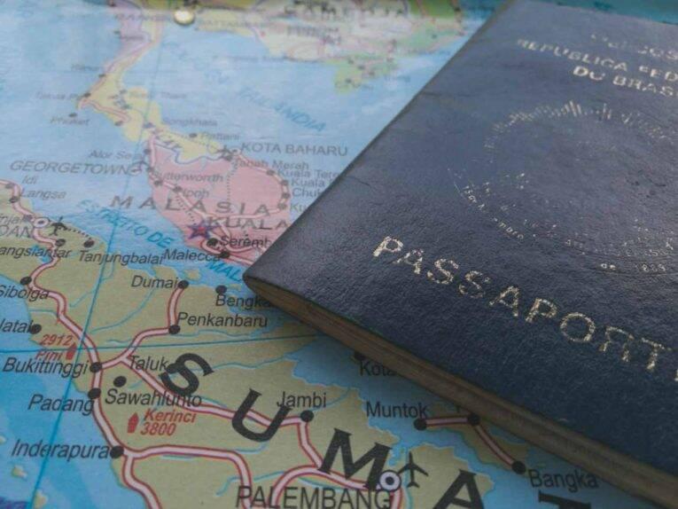 Passaporte brasileiro na Indonésia