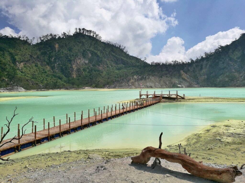 Kawah Putih - Indonesia - Viagem pela Ásia