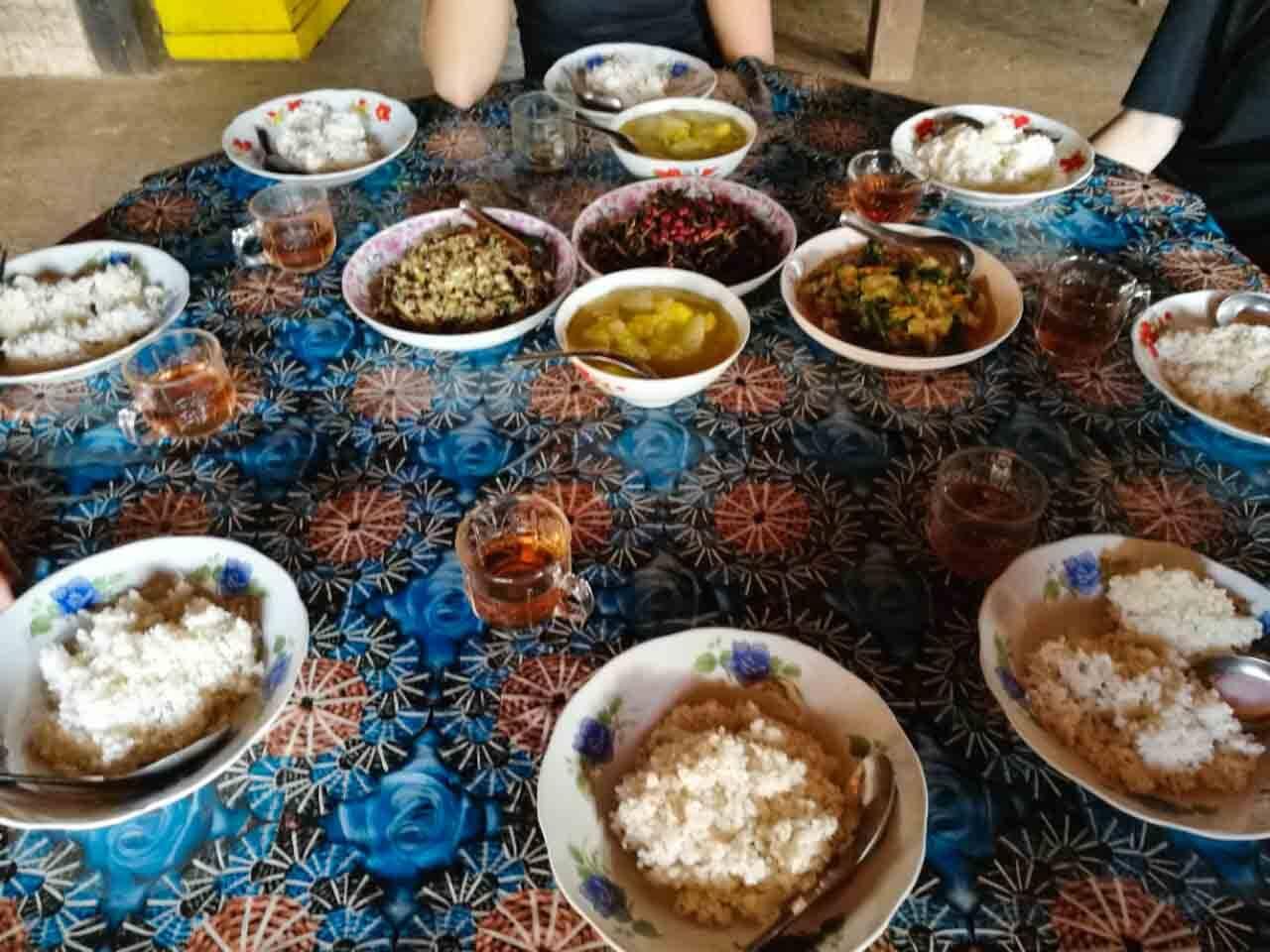 Foto da comida - trekking em Hsipaw