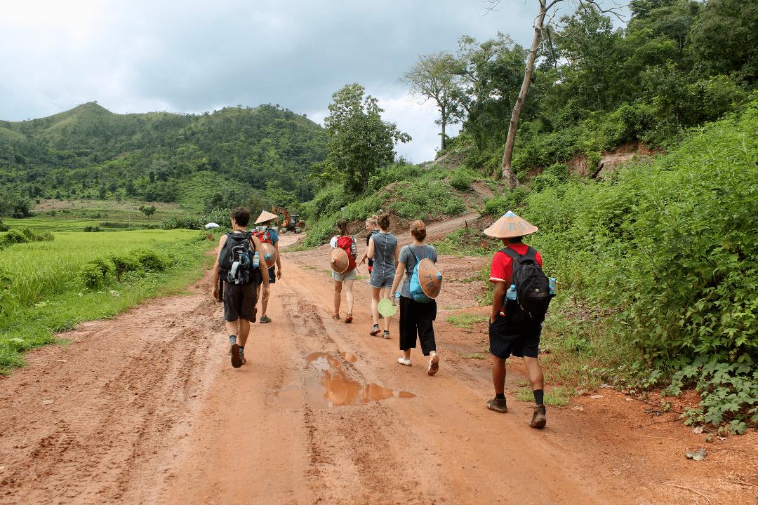 trekking em Hsipaw