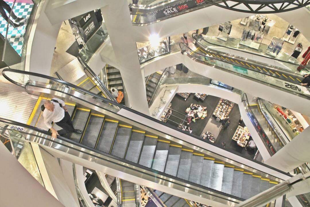 Comprando no bairro Siam, em Bangkok - o que fazer em Bangkok