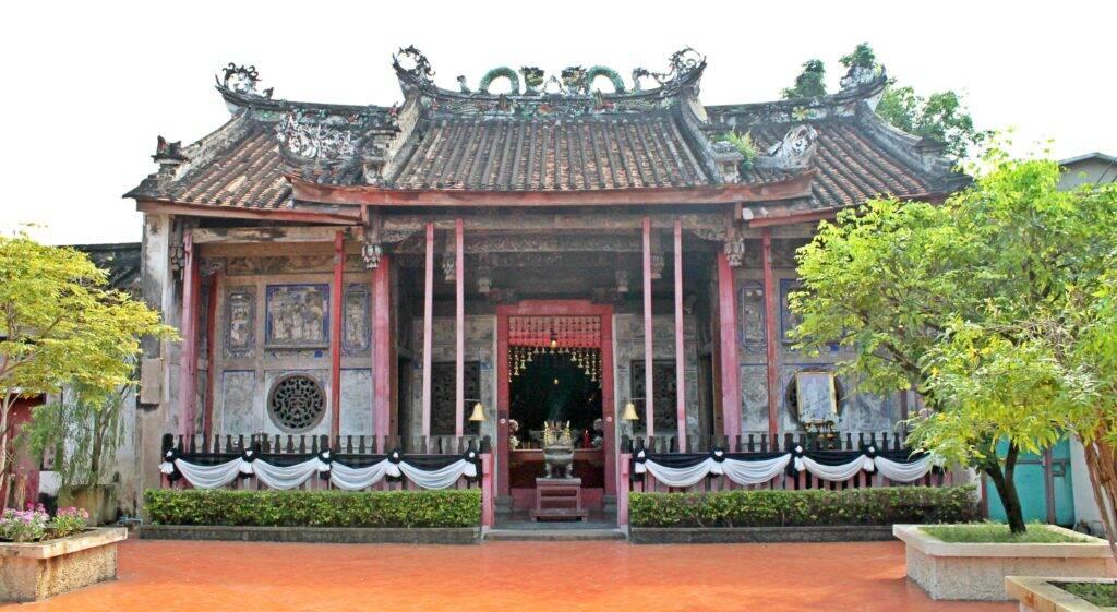 Kuan Yin Shrine em Bangkok (Tailândia)