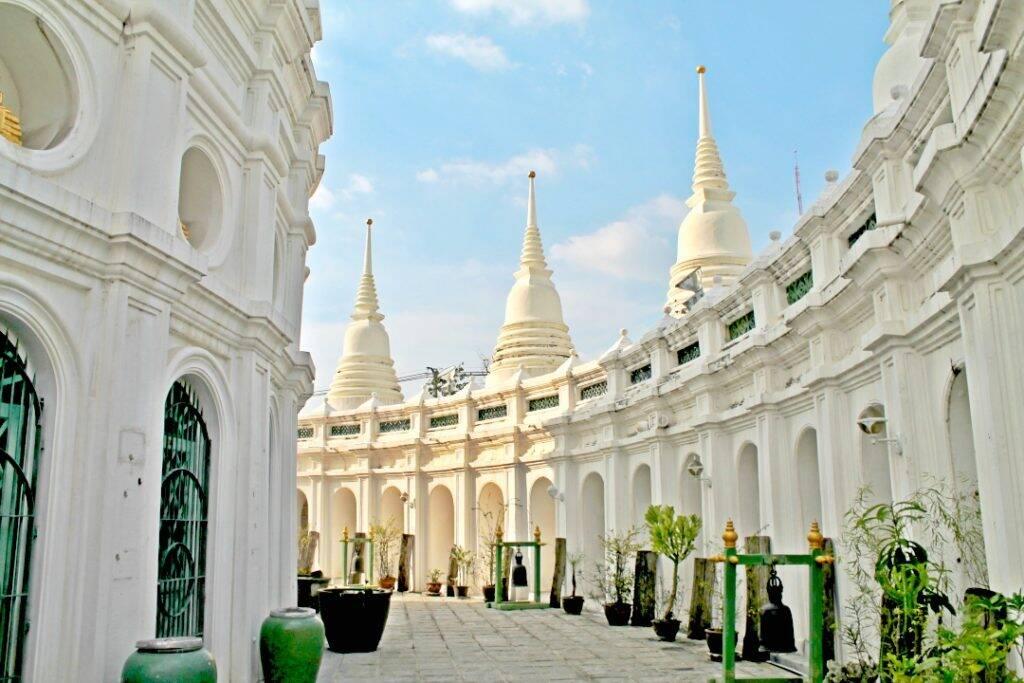 Templos alternativos em Bangkok na Tailândia