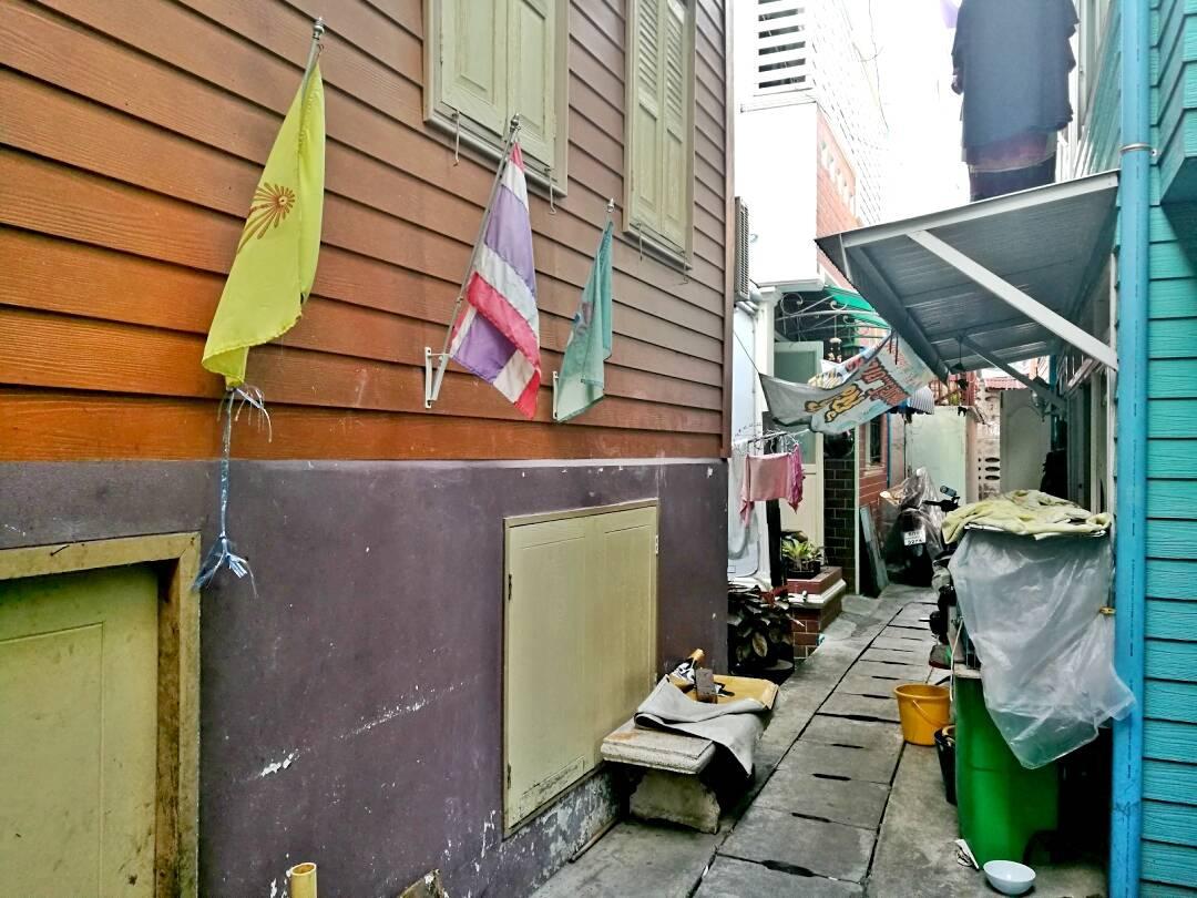 Ruelas de Bangkok