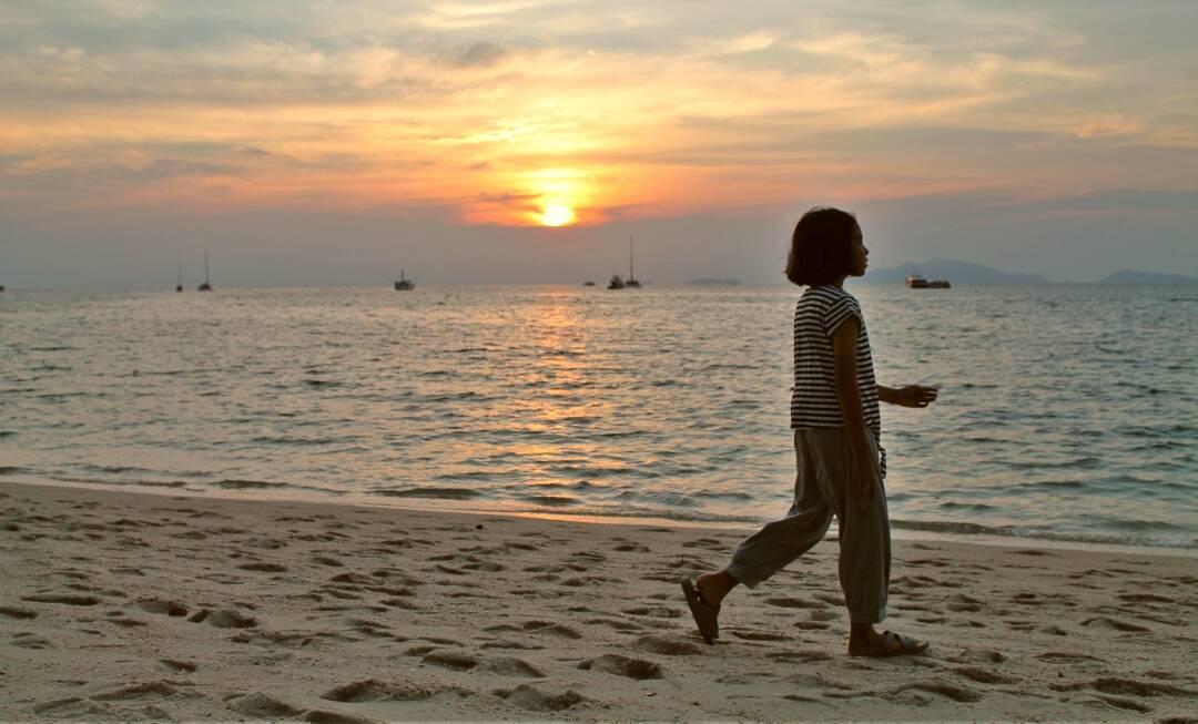 Um pôr do sol maravilhoso em Koh Lipe.   Bruno/@naproadavia