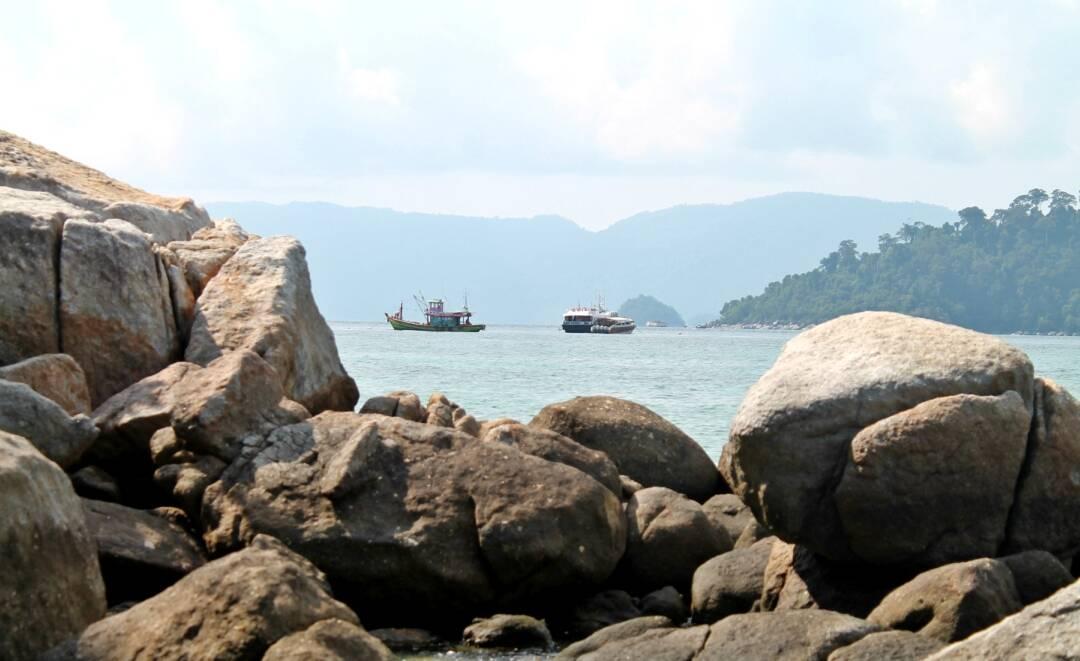 Entre as praias de Koh Lipe.   Foto: Bruno/@naproadavida