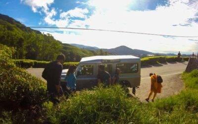 Nossa saga para chegar em Cameron Highlands